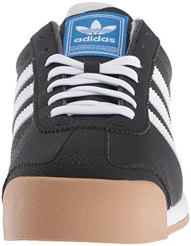 Adidas Originaler Menns Samoa Retro Sneaker Svart / Hvit / Metallic / Gull