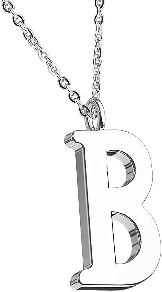 Mianova Damen Halskette Kette mit Buchstaben Anh/änger