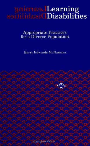 Learning Disabilities: Appropriate Practices for a Diverse Population (Suny Series, Youth Social Services, Schooling and