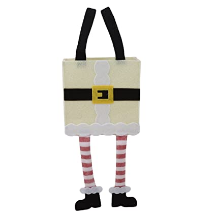 LIXIAQ1 Bolsas diseño de pies de Caramelo, Bolsas de Navidad ...