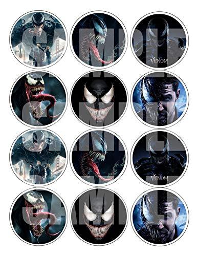 Venom Stickers, Large 2.5