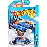 Hot Wheels, 2015 HW City, Loopster [Blue] Hands Down Version Die-Cast Vehicle #75/250 by Mattel