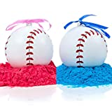 Gender Reveal Baseball | Set of 2 Exploding Baseballs | Pink & Blue