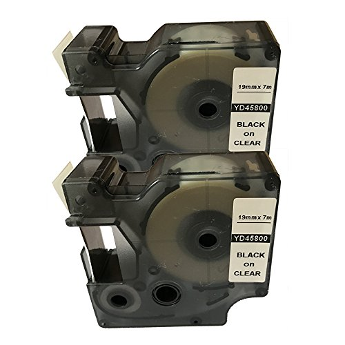 NEOUZA 2PK Compatible for DYMO D1 Standard Label Tape 3/4