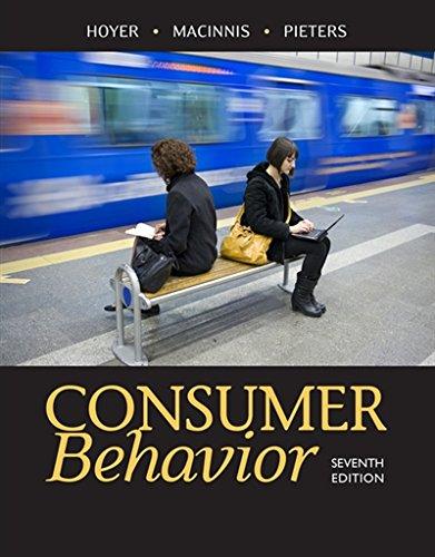 Top 9 recommendation consumer behavior hoyer macinnis 2020