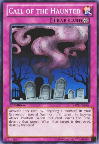 Haunted Deck - Yu-Gi-Oh! - Call of the Haunted (YSYR-EN042) - Starter Deck: Yugi Reloaded - 1st Edition - Common