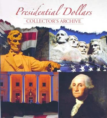 Whitman Presidential Dollars Collector's Archive (Dollar Book President Coin)
