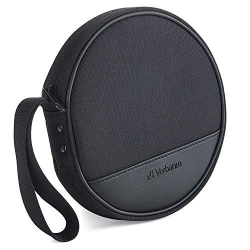 Verbatim CD/DVD Storage Wallet - 24 ct. Black
