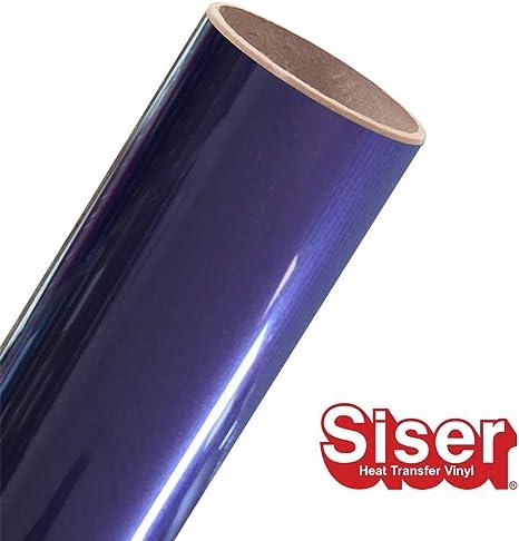 Iron on Heat Transfer Vinyl Siser EasyWeed HTV 15 x 5ft Roll Black