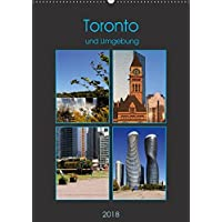 Toronto und Umgebung (Wandkalender 2018 DIN A2 hoch): Metropolregion Toronto (Monatskalender, 14 Seiten ) (CALVENDO Orte) [Kalender] [Mar 07, 2017] Seidl, Helene