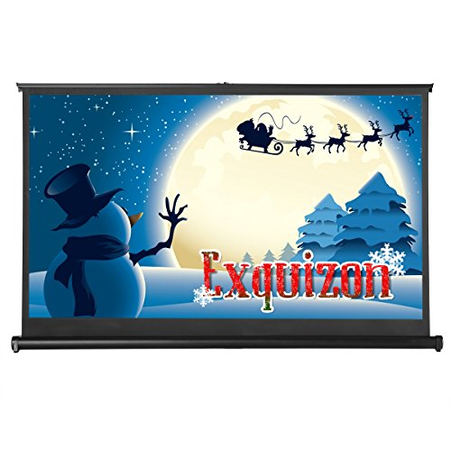 50 inch portable projector screen - 3