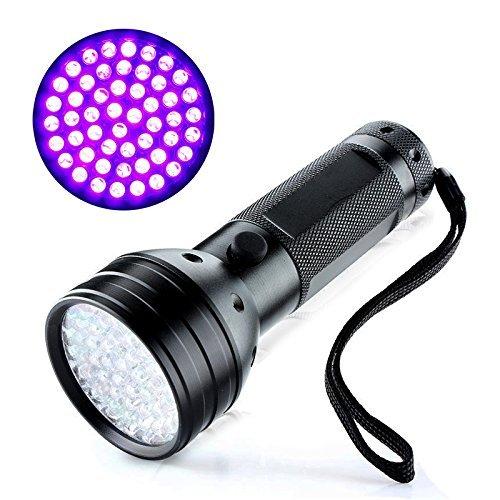 Uv Flashlight 51 Led Super Bright Powerful Black Light