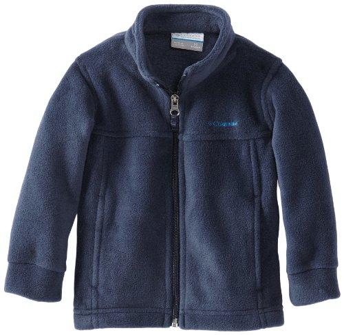 Columbia Little Boys' Toddler Steens MT II Fleece Jacket, Collegiate Navy, 3T