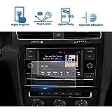 2018 Volkswagen Golf 7 Golf GTI Golf SportWagen 6.5 Inch Center Touch Screen Protector, LFOTPP Tempered Glass In-Dash Clear Screen Protector