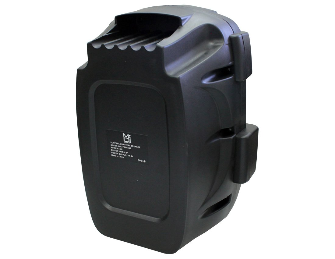 Mr. Dj PSE65BT 6.5'' Portable Active Speaker with Rechargeable Battery 1000W P.M.P.O, 1'' by Mr. Dj (Image #6)