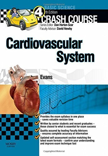 Crash Course Cardiovascular System Updated Print + E-Book Edition, 4e by Evans BMedSci, Jonathan (March 6, 2015) Paperback 4