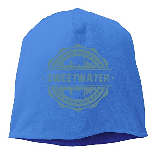 Unisex Sweetwater Texas Knit Beanies Hat, Hip-Hop Skull Cap, Daily Beanie, Helmet Liner, Baggy Hats, Head Wrap For Women & Men (Wash Sweetwater)