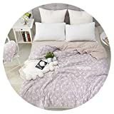 2019 New Small Floral Summer Quilt Blanket Quilting Home Textiles Air Condition Blanket Suitable for Children Adult Free #sw,110x150cm 500g,-BG-MX-mianduo