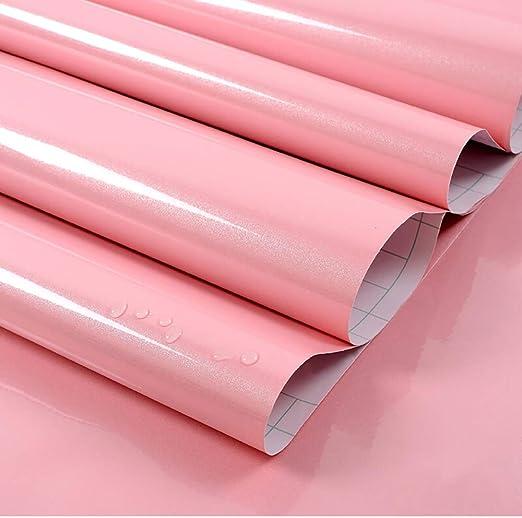 Klebefolie für Möbel 3 m 5,98 € //m Möbelfolie hellgelb matt 61,5 cm