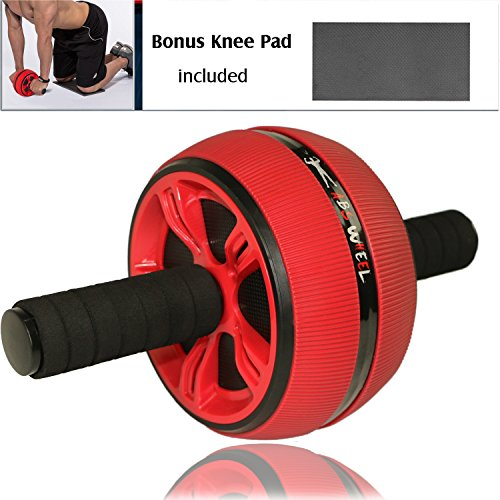 Ab Wheel Carver Pro Roller for Core Workouts, Abdominal Roller Wheel with Knee Pad, Home Gym Toning and Core Tightening, Fitness Abdominal Exercise Equipment