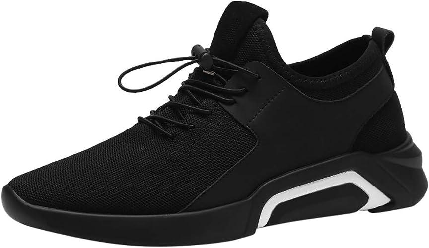JiaMeng Zapatos para Correr En Montaña Asfalto Deportes ...