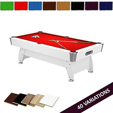 Radley Mesa de Billar 7 pies Diamante + Opciones para Personalizar + Accesorios Gratis: Amazon.es: Deportes y aire libre