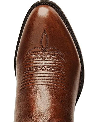 Lucchese Bootmaker Men's Carson-Ant Bn Lonestar Calf Cowboy Riding Boot, Antique Brown, 12 D US by Lucchese Bootmaker (Image #6)
