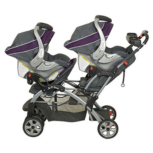 Baby Trend Sit N Stand Double Travel System Stroller & Car Seat - Elixer by Baby Trend (Image #4)