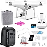 DJI Phantom 4 PRO Quadcopter Starters Hardshell Backpack Bundle plus digitaluniverse accessories