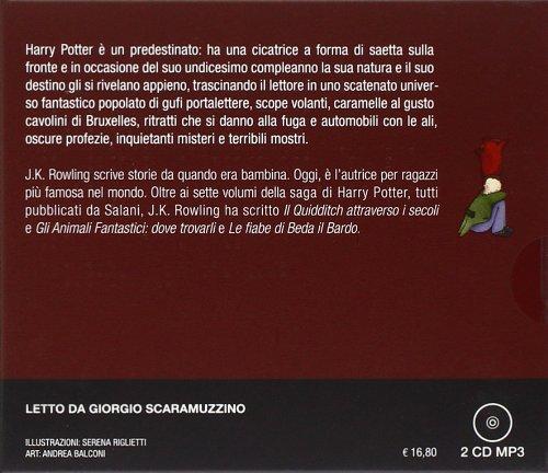 Come Si Dice Letto A Castello In Inglese.Harry Potter E La Pietra Filosofale Audiolibro 2 Cd Audio