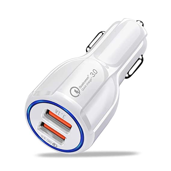 Amazon.com: Car USB Charger Quick Charge 3.0 2.0 Mobile ...
