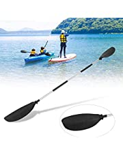 A&DW Remos De Aluminio para Botes/Remo De Kayak, Remo Telescópica De 230 Cm Paleta De Eje De Aleación De Aluminio De 2 Pasos Paleta De Tabla De Surf Inflable Universal para Bote De Canoa Ligera