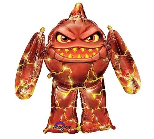 "LoonBalloon SKYLANDERS Eruptor Airwalker AIR WALKER 45"" 3D JUMBO Mylar Party Foil BALLOON"