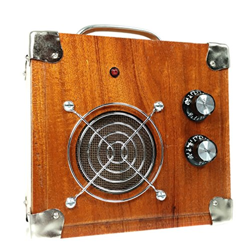 Beautiful 2.5-watt Solid Wood Cigar Box Guitar Amplifier (#5) by C. B. Gitty