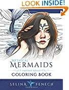 #5: Mythical Mermaids - Fantasy Adult Coloring Book (Fantasy Coloring by Selina) (Volume 8)