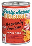 Party Animal Grain Free Can Dog Venison 13 oz Case 12
