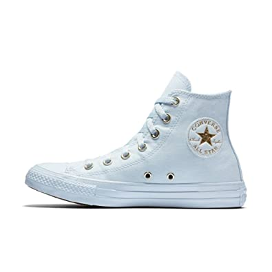 b6bb6cb019c5 Converse Chuck Taylor All Star Mono Glam High Top Shoes (6 B US) Blue
