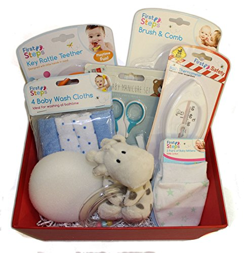 Baby Essentials Gift Set - Baby Shower Blue (Dispatched From UK)