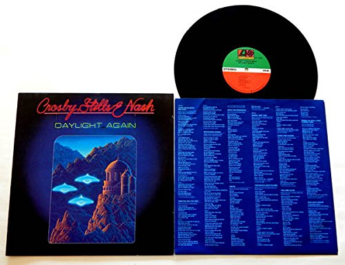 Crosby,Stills,Nash & Young LP Daylight Again - Atlatic Records 1982 - Near Mint -