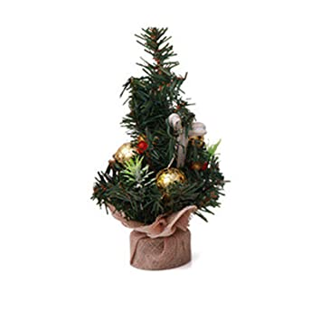 Mini Christmas Tree for Kids and Adults - Iuhan® Artificial Tabletop  Christmas Pine Tree - - Amazon.com: Mini Christmas Tree For Kids And Adults - Iuhan