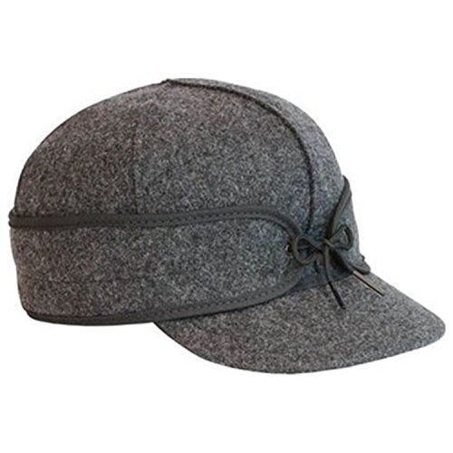 The Original Stormy Kromer Wool Cap Grey 7 3/8