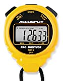 ACCUSPLIT Pro Survivor - A601X Stopwatch, Clock, Extra Large Display (Yellow)