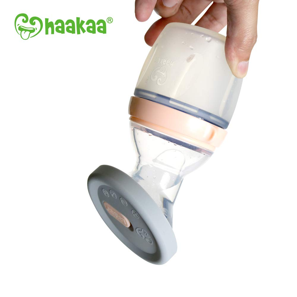 Haakaa Leak-Proof Silicone Cap, 1 pk, Fit All Haakaa Breast Pumps, BPA PVC and Phthalate Free