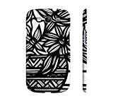 Fawbush Black White Flowers Samsung Galaxy S3 Phone Case offers