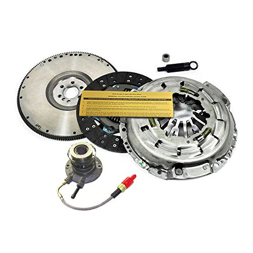 LUK CLUTCH KIT+SLAVE+HD FLYWHEEL 1997-2004 CHEVY CORVETTE C5 5.7L LS1 Z06 ()