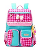 JiaYou Kid Child Girl Princess Style Waterproof School Bag Backpack(B)