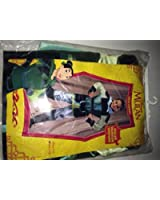 mulan child warrior costume size 7-10