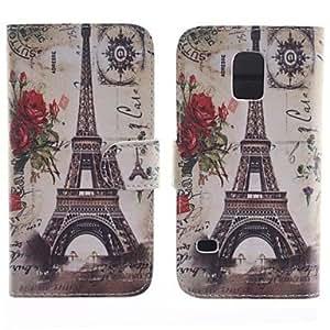 Teléfono Móvil Samsung - Carcasas de Cuerpo Completo - Gráfico - para Samsung Galaxy Mini S5 ( Multi-color , Cuero PU )