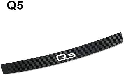 Car Sticker for,Car Stickers for Audi Q5 Auto Rear Bumper Trunk Load Edge Protector Decals Carbon Fiber Waterproof Automobiles Car Accessories