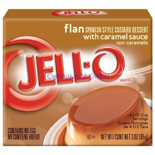 Jell-O Pudding, Flan, 3 oz